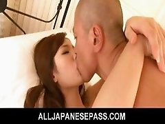 Mei Haruka Asian teen gets her tight pussy pounded