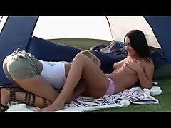 Blue Angel, Antonia, a tent and the nature