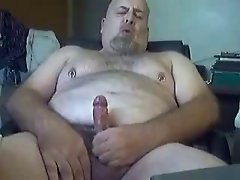 Bear Moans and Cums