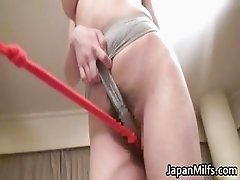Beautiful Japanese hottie with some part1