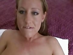 Hot amateur gets a real orgasm