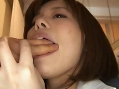 japanese busty blowjob