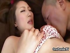 Big tits Japanese girl loves getting part6