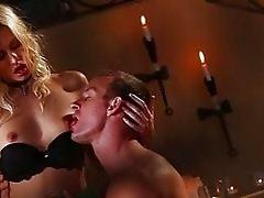 Lusty babe Jessie Volt sucks and ripped