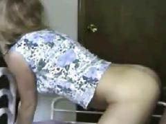 Blonde amateur wife interracial fucking and oral