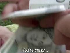 Czech girl Samantha analyzed for money