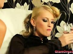 Fetish nasty european glam lesbians