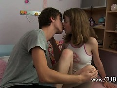 Russian teenagers enjoy bang