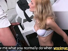 Amateur Jenny analyzed and facial cum