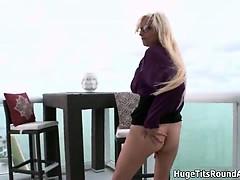 Busty blonde slut from BigTitsRoundAsses part5