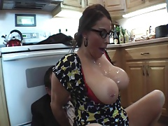 Milf Taking on Two Guys