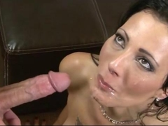 Huge Facial Compilation Cumming on MILFs Asians and More