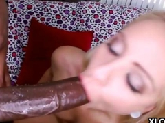 Cameron Canada loves a black cock to suck on