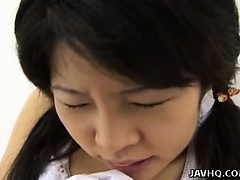 Haruka Aida hot Asian teen solo