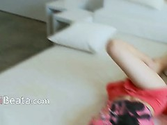 Hardcore teen makinglove with her cameraman