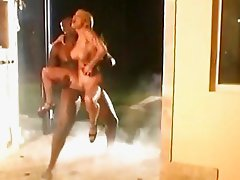Shyla Stylez gets her ass destroyed by black monster cock
