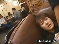 Hot Japanese doll gets some hard public part5