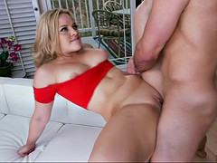 all-natural babe alexis texas getting her bald twat drilled