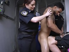 horny white cops bang black suspect