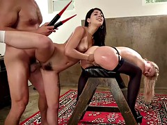 wicked bdsm ffm with gina valentina and cherie deville