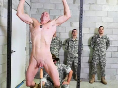 Army boys xxx gay first time Good Anal Training