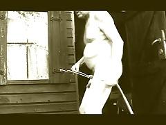 transvestite sissy garden sounding urethral anal sextoy 28
