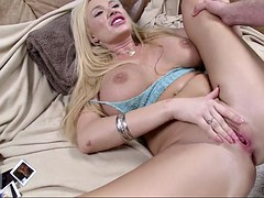 summer brielle has her yummy snatch fucked and then creampied