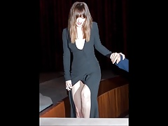 Dakota Johnson - Jerk off challenge
