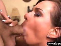 Astounding whore Tory Lane pussy banged and cum facialed