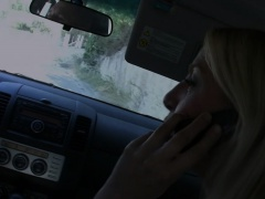 Pretty Blonde Plays Loves Outdoor Ass-Fucking