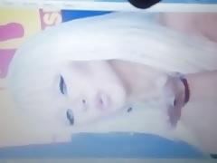 Christina Aguilera cumtribute 6