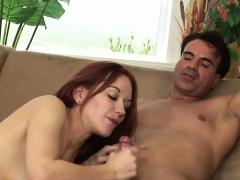 Horny guy bangs a smoking hot chick