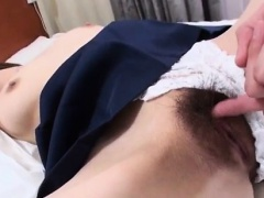 Busty Miki endures cock in each of her holes