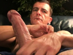 Mature Amateur Man Jerking Off