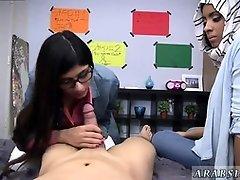 Arab teens blowing dick