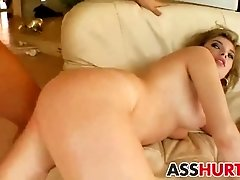 Donna gets rough anal