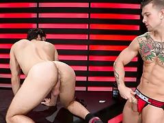 HotHouse Tegan Zayne Takes Sebastian Kross' Cock