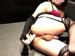 Crossdressers ass for webcam