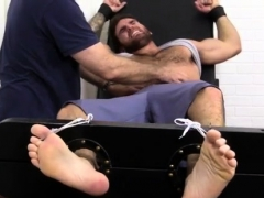 Gay guys sucking and licking doctors feet Chase LaChance