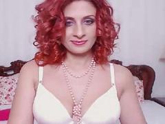 Naughty Shemale Wanks her Huge Cock