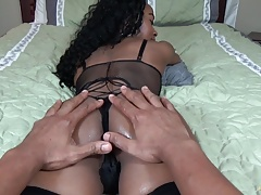 Alpha cuckold ass worship