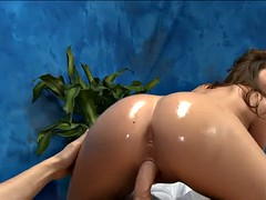 shy masseuse knows her job