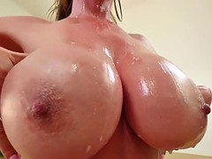 asian milf gagging pov