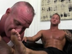 Gay rican sucking boys toes Dev Worships Jason James' Manly