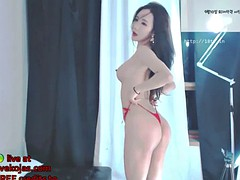 korean bj neat incredible ass in swimsuit