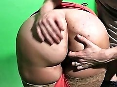 bbw gives tit-job then spreads legs