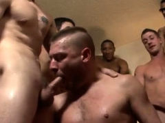 Hollywood cumshot video gay Bareback for the Bear