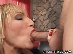 Busty Cougar Loves Hard Fucking With Young Cock