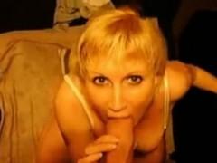 POV Mom Anika MILF with big natural Euro boobs