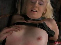Slave acquires ass whipping before cunt torturing